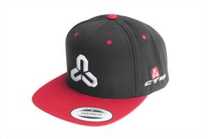 Šiltovka Snapback black/red
