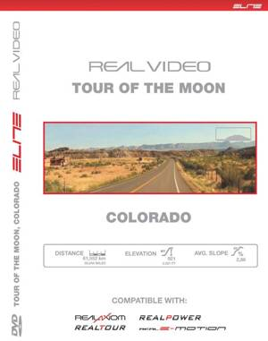 Trať DVD TOUR OF THE MOON , COLORADO