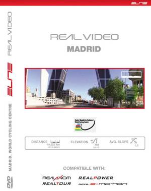 Trať DVD MADRID Worldchampionship