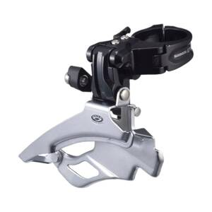 Prešmyk Deore M591 3x9 uni ťah Down Swing (34,9/31,8/28,6mm) 48/44z.