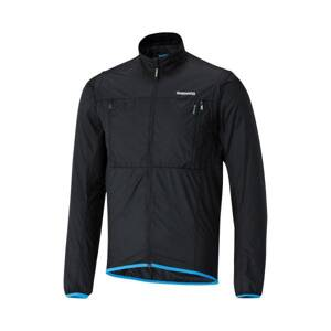 Bunda Shimano Hybrid Windbreak čierna /Vel:L