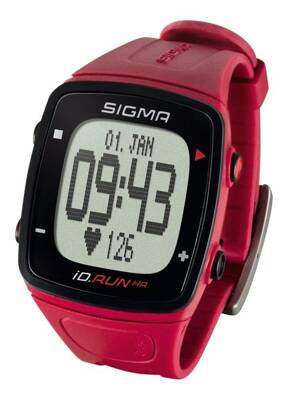 Pulzomer Sigma iD.RUN HR rouge