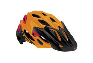 Prilba MET Parabellum HES Matt orange/red L 59-62cm