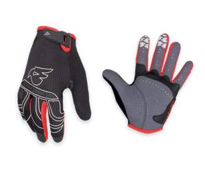 Rukavice BLUEGRASS Lynx Red/black L