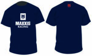 MAXXIS Navy T-shirt XL