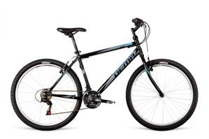 Bicykel Dema ECCO 1.0 black-grey-blue 18""