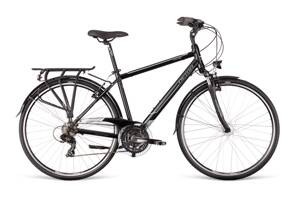Bicykel Dema AROSA 2.0 Dynamo dark gray-gray-white 19""