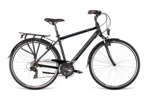 Bicykel Dema AROSA 1.0 black-gray-blue 19'