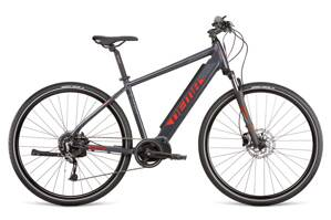 Bicykel Dema E-LLIOT CROSS MODEST 600 20' dark gray